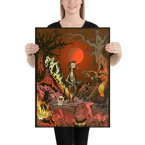 "BLOODMOON 18x24"" Poster"
