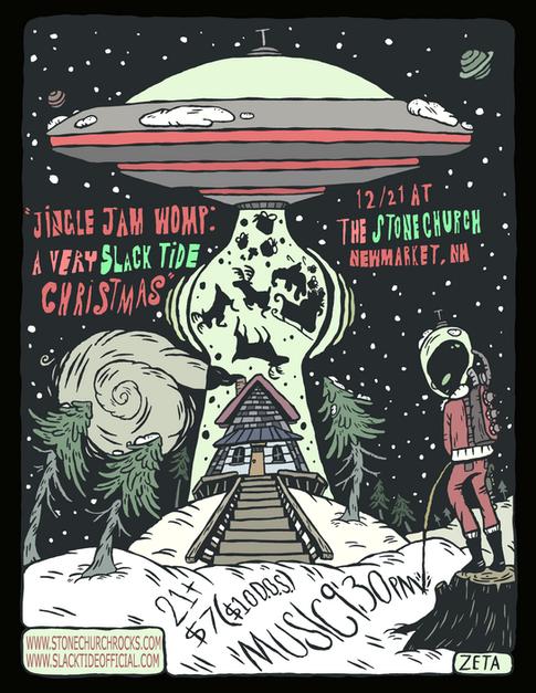 Jingle Jam Womp: A Very Slack Tide Christmas
