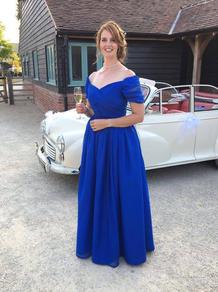 Chiffon occasion dress
