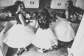 Tulle Bridesmaids