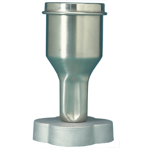 E8580.00 Semi-Micro Container, Stainless Steel with Press Fit Lid