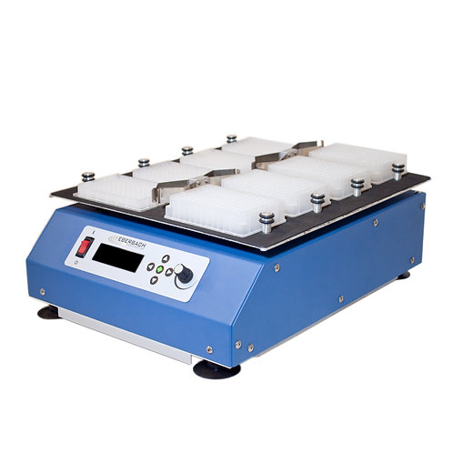 E6121.00 Stainless Steel, Large Microplate Vortexer, Variable Speed