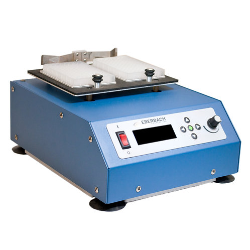 E6120.SS Stainless Steel Microplate Vortexer, Variable Speed