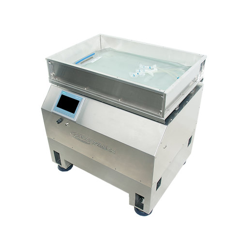 E6145.LC.SS Stainless Steel Large Orbital Shaker with Integrated Scale