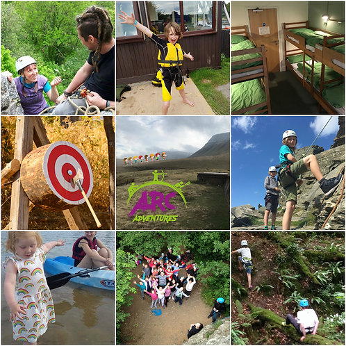 Kids Full Day: 2 x Choose your own adventure voucher