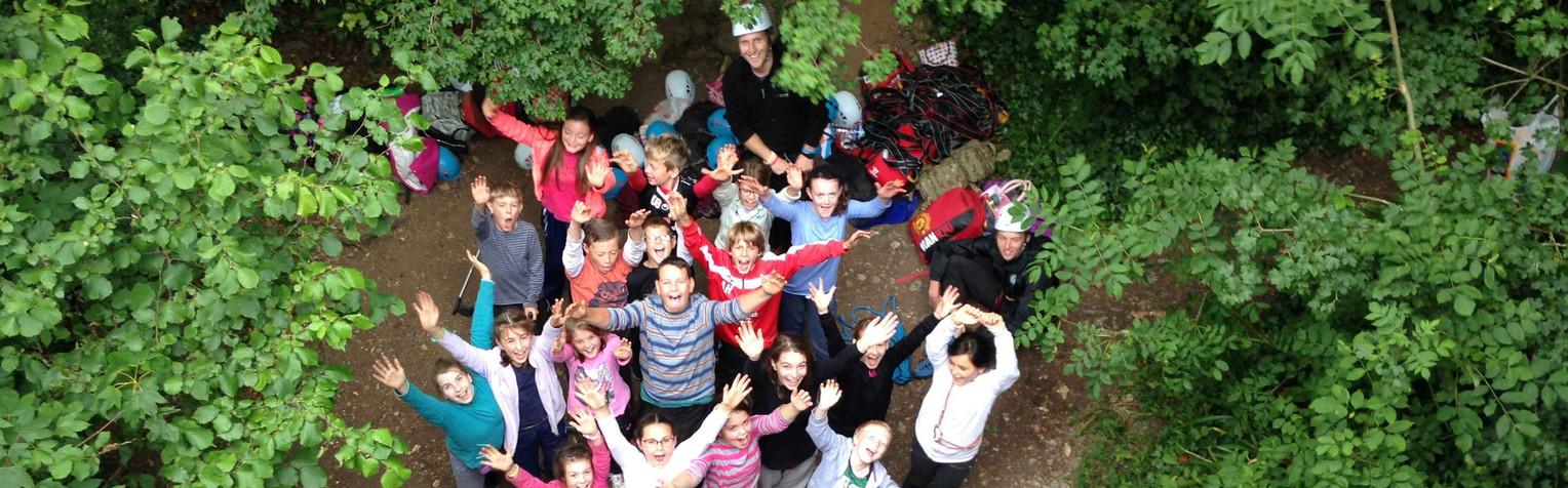 climbing school group