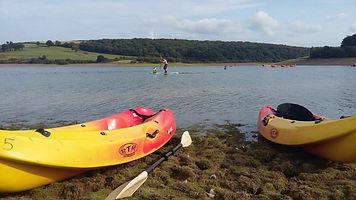 kayaks Usk Reservoir