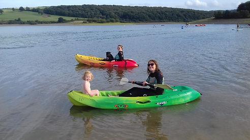 Family Kayak Breaks