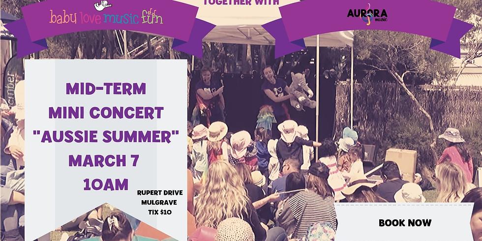 MID TERM Mini Children's Concert ~ Aussie Summer