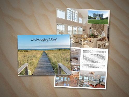 Large Folded Brochure