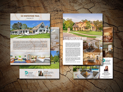 Flat 2-Page Brochure