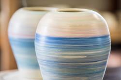 seascape vases
