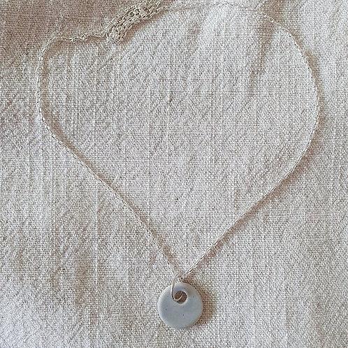 lilac dew drop necklace