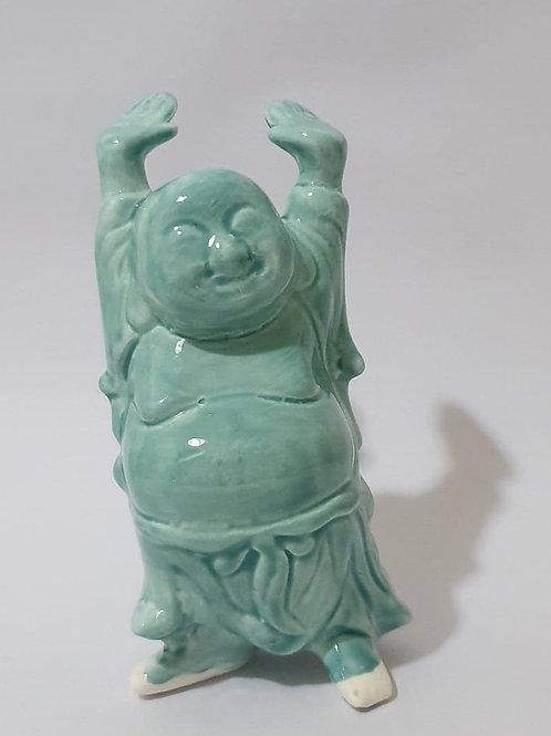 32. Buddha standing blue
