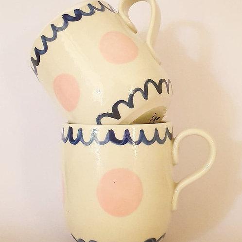 49. set of 2 handled mugs