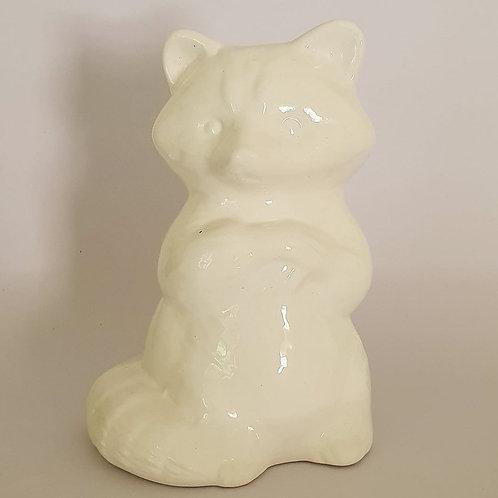 24. raccoon milky white