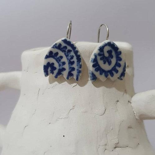 small tulip earrings