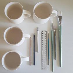 handling mugs