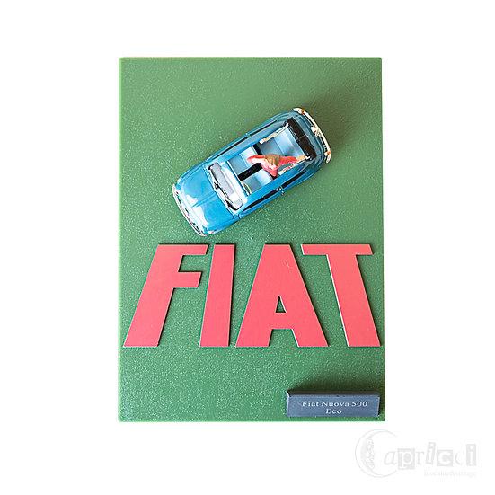 1/43 ジオラマ Fiat 500 Nuova Eco