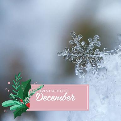 12月の出店のご案内