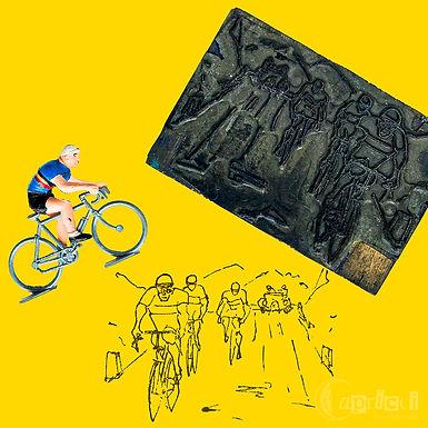 自転車レースの版を掲載しました。