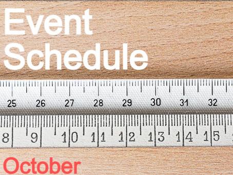 10月のスケジュール | capricci OFFICINA134