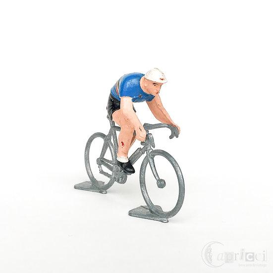 ヴィンテージサイクルロードレーサーミニチュア ベルギー/ブルー