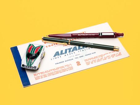 レアもの発見。ヴィンテージのALITALIAのボールペン | Stilus