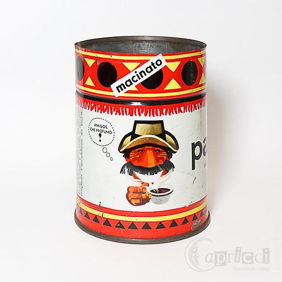 ヴィンテージのLAVAZZAのコーヒー缶/Armando Testaデザイン