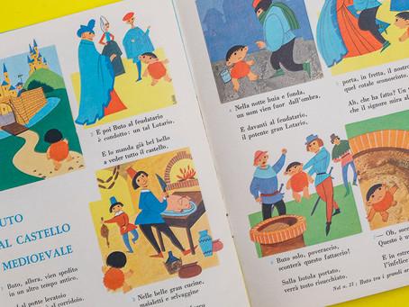 イタリア1960年代のこども雑誌、MICHELINO