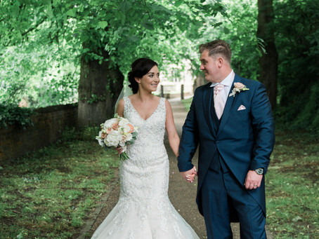 Laura and Alan - Hirst Priory