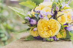 Lemon and Lilac wedding