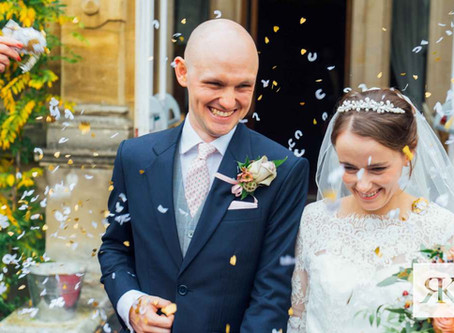 Laura and Tom - Rossington Hall