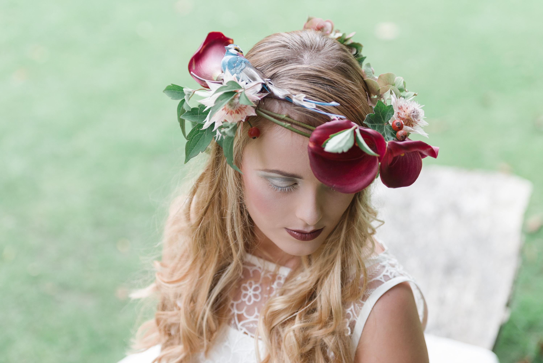 Twig Floral Headdress