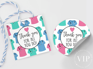 free medical thank you tag nurse week appreciation printable tag free download freebie