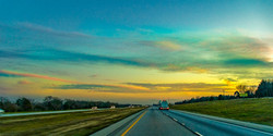 Heading South at Sunset