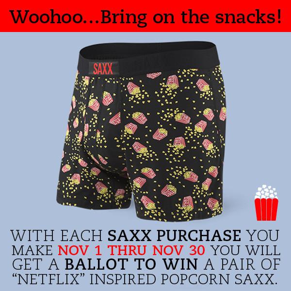 Nov 1 thru Nov 30 SAXX Contest