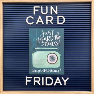 Fun Card Friday