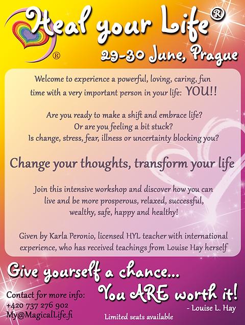 Heal Your Life Workshop in Prague, Czech Republic