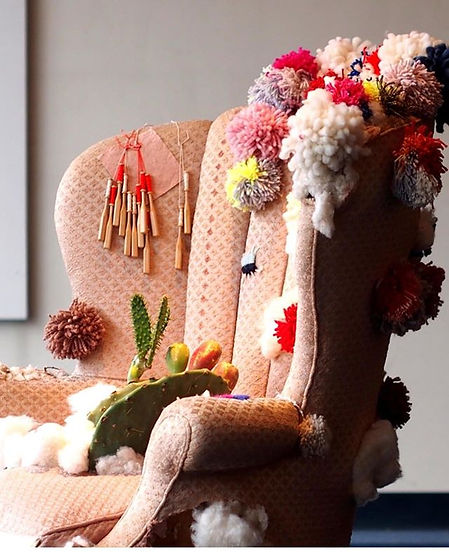 I LOVE this chair I did for BSC Breaking