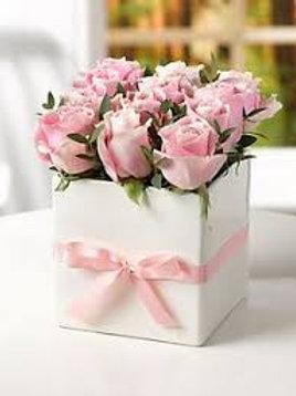 Cajas de flores pequeñas