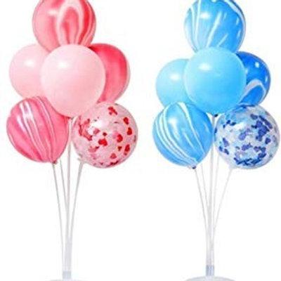 Arreglos de globos con stand acrilico