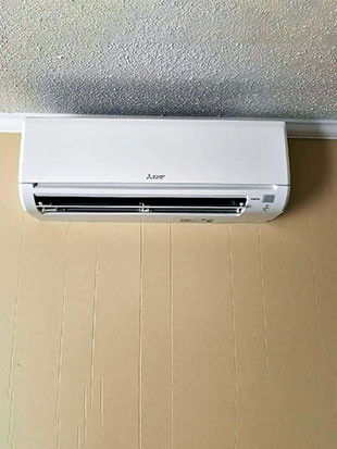 Mitsubishi Electric Ductless Install_Inside