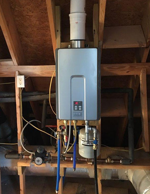 Charleston Tankless Water Heater Installation