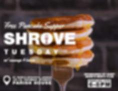 Shrove Tuesday Free Pancake Supper Saint