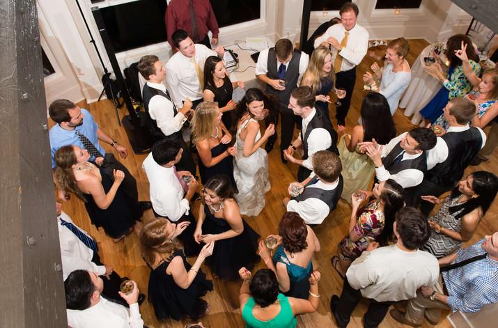 Charleston Wedding DJ Shane Griffin Ente