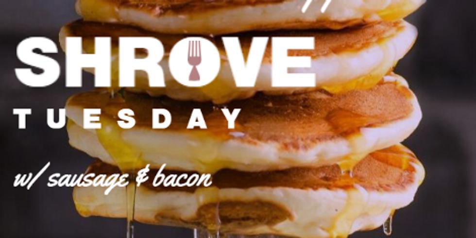 Shrove Tuesday Free Pancake Supper