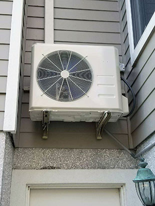 Mitsubishi Electric Ductless Residential Install
