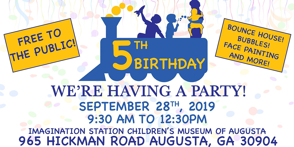 Imagination Station 5th Birthday Party