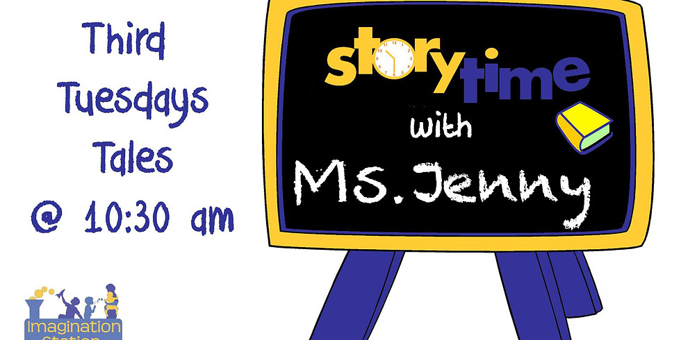 Storytime with Ms. Jenny!